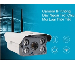 CAMERA IP WIFI YOOSEE 2 ANTEN IPW004 (OUTSIDE)