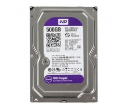 HDD WESTERN PURPLE 500G